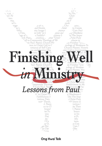 Finishing Well in Ministry (eBook)