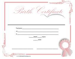 Spiritual Birth Certificate